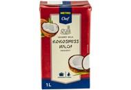 Молоко кокосове Metro Chef ультрапастеризоване 1л