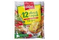 Приправа Деко 12 овочів і трав універсальна в гранулах 70г