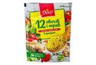 Приправа Деко 12 овочів і трав універсальна в гранулах 170г