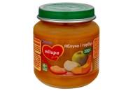 Пюре Milupa яблуко і гарбуз дитяче з 6 місяців 125г