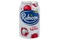 Напій Rubicon Lychee безалкогольний соковмісний 330мл