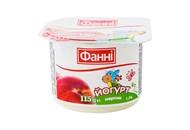 Йогурт Фанні персик 1,5% 115г