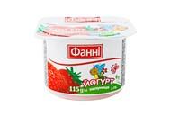Йогурт Фанні полуниця 1,5% 115г