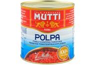 Томати Mutti Polpa тонко нарізані пастеризовані 2500г