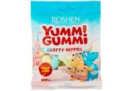 Цукерки Roshen Yummi Gummi Softy hippos желейні 100г