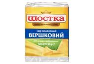 Сир плавлений Шостка Вершковий 40% 90г