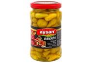 Перець Aysan Biberiye жовтий гострий маринований 340г