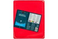 Дошка для нарізання Metro Professional червона GN 1/2 1шт