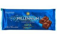 Шоколад Millennium молочний пористий 80г