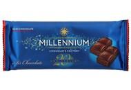 Шоколад Millennium чорний пористий 80г