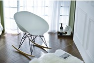 Крісло качалка Metro Internal brand біле
