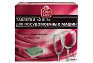 Таблетки для посудомийних машин Fine Life 2в1 60*18г/уп