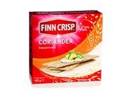 Сухарики Finn Crisp Бородинські тонкі з коріандром 180г