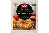 Каша вівсяна Axa яблуко-груша зі смаком штруделю 40г