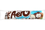 Шоколад Nestle Aero порист молочний та білий смак кокоса 30г