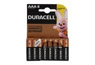 Батарейки Duracell AAА 1.5V LR03/MN2400 8шт/уп