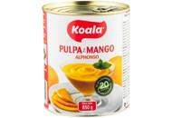 Пюре Koala Alphonso з манго пастеризоване солодке 850г
