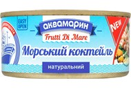 Коктейль з морепродуктів Аквамарин натуральний 185г