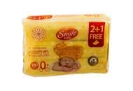 Серветки дитячі Smile baby вологі ультрам`які 180шт/уп
