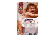 Підгузки Libero Touch 4 для дітей 7-11кг 38шт