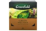 Чай Greenfield Green Melissa зелений 100*1.5г/уп