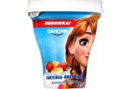 Коктель йогуртний 1.5% Банан-Полуниця Danone ст 250г
