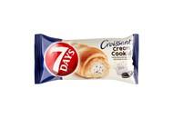 Круасан з начинкою з кремом з ароматом ванілі і молоком та шматочками шоколадного печива 7 Days му 6