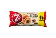 Круасан з горіховим кремом зі шматочками печива 7 Days му 110г
