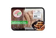 Ковбаски для гриля «Мюнхенські» охолоджені 600г М`ЯСНА ВЕСНА