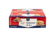 Котлети яловичі для гамбургера Metro Chef 42*100г 4,2кг