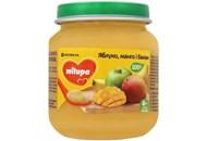 Пюре для дітей від 6міс Яблуко, манго і банан Milupa сб 125г