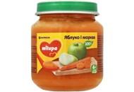 Пюре для дітей від 6міс Яблуко і морква Milupa сб 125г