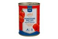 Томати Metro Chef цілі очищені в томатному соці 400г