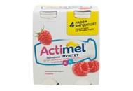Продукт кисломолочний Actimel Малина 1.5% 4*100г/уп