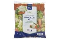 Броколі мікс Metro Chef заморожена 1кг