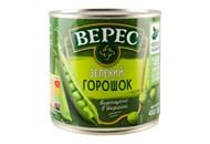 Горошок Верес зелений консервований 400г