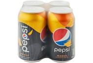 Напій безалкогольний Pepsi Mango сильногазований 0.33л