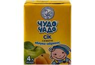 Сік Чудо-Чадо Яблуко-абрикос з м`якоттю 0,2л