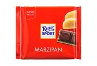 Шоколад Ritter Sport чорний з начинкою марципан 100г