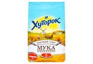 Борошно Хуторок пшеничне вищого гатунку 5кг