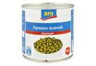 Горошок Aro Особливий зелений консервований 420г