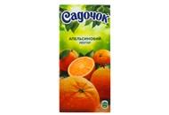 Нектар Садочок апельсиновий неосвітлений 0.95л