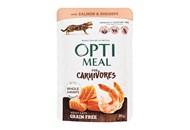 Корм вологий Optimeal з лососем та креветками для котів 85г