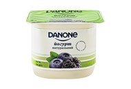 Йогурт Danone Чорниця-ожина натуральний 2% 135г