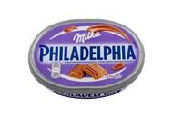 Сир Philadelphia м`який c молочним шоколадом Milka 22% 175г