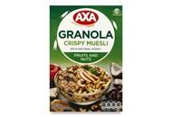 Сніданки сухі Axa Мюслі з фруктами та горіхами 270г