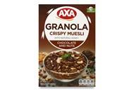 Сніданки сухі Axa Мюслі з шоколадом і горіхами 270г