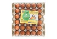 Яйця Квочка курячі харчові столові С1 30шт/уп