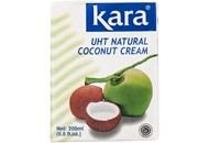 Вершки Kara кокосові ультрапастеризовані 24-26% 200мл