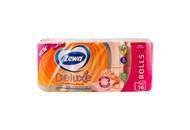 Папір туалетний Zewa Deluxe з ароматом персика 16шт